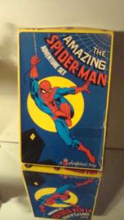 MARVEL COMICS SPIDERMAN COLORFORMS VINTAGE 1974