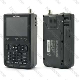 3000mAh Battery Satlink WS 6906 DVB S FTA data Digital Satellite