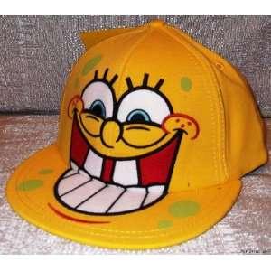 SPONGEBOB SQUAREPANTS Big Teeth Flex Fit Baseball CAP/ HAT