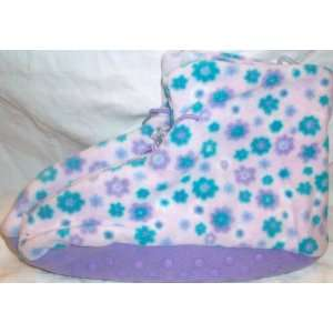 Soft Comfy Warm Home Slippers, Snow Flake, Holiday Winter