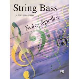 String Note Speller Book String Bass