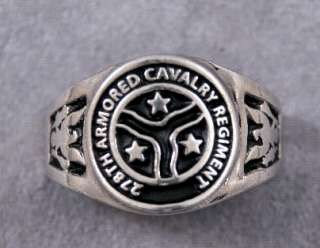 Cavalry Rings Choice of 12 Different Units Cavalry and Armored Cavalry