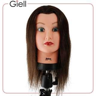 21 Cosmetology Mannequin Head 100% Human Hair   Debra