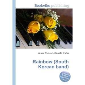 Rainbow (South Korean band) Ronald Cohn Jesse Russell