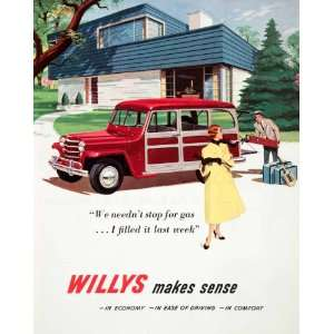 com 1951 Ad Willys Civilian Jeep Motors Auotmobiles Toledo Golf Clubs