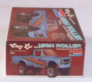 CHEVY LUV 4x4 Truck LIFTED HIGH ROLLER Monogram 1:24 Pickup Kit Model