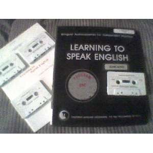 Learning to Speak English (ILOCANO (9780929208114): Books