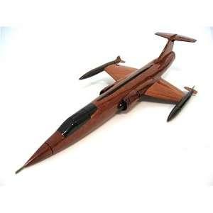 F 104 Starfighter Fighter Jet Display Model Airplane