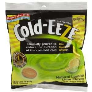 Cold EEze Zinc Gluconate Lozenges, Lemon Lime Citrus 18 ct