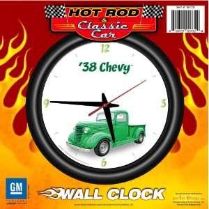 Truck 12 Wall Clock   Chevrolet, Hot Rod, Classic Car
