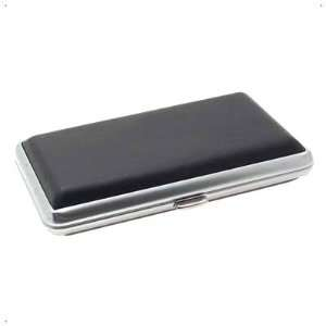 Classical Slim Leather 10 Cigarette Box Case Holder