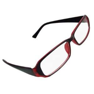 Full Rim Clear Lens Lady Plano Eyeglasses