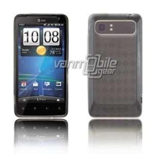 VMG HTC Vivid TPU Design Skin Case 4 ITEM COMBO   Clear Diamond