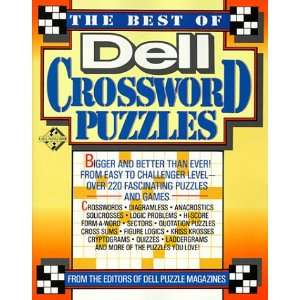 The Best of Dell Crossword Puzzles (Best of Dell