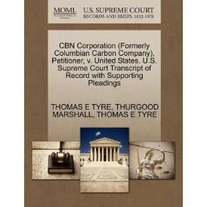 Pleadings (9781270497059): THOMAS E TYRE, THURGOOD MARSHALL: Books
