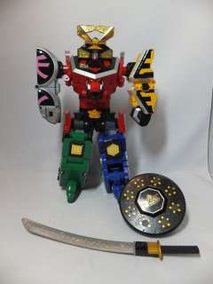 Power Rangers SAMURAI DX SHINKENOH MEGAZORD & ORIGAMI ZORD set of 6