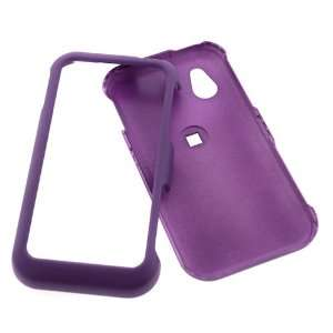 LG Arena GT950 Rubber Dr. Purple Protective Case Faceplate