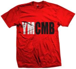 YMCMB 2 COLER T SHIRT MONEY WAYNE YOUNG WEEZY LIL RAP NEW HIP HOP
