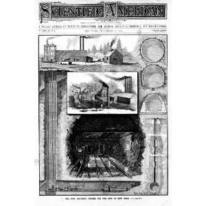 TUNNEL FOR THE CITY OF NEW YORK SCIENTIFIC AMERICAN Munn Books