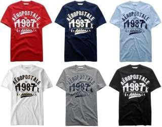 Aeropostale mens logo T shirt Tee shirt S,M,L,XL,XXL 2X