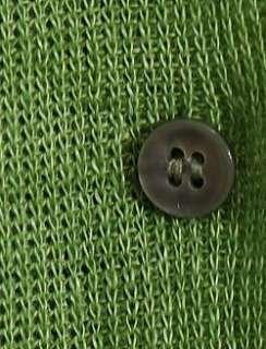 NWT EILEEN FISHER Green Grass Linen Delave Cardigan 1X