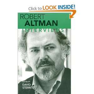 Robert Altman: Interviews (Conversations with Filmmakers