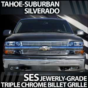 2000 2006 Chevy Tahoe SES Chrome Billet Grille Automotive
