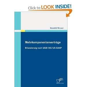 IAS/US GAAP (German Edition) (9783836694148) Benedikt Weisser Books