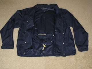 RALPH LAUREN POLO GOLF JACKET that converts to a bag, SIZE Extra Large