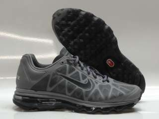 Nike Air Max 2011 Cool Grey Black Sneakers Mens Sz 9