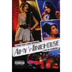 Amy Winehouse   I Told You I Was Trouble amy winehouse Movies & TV