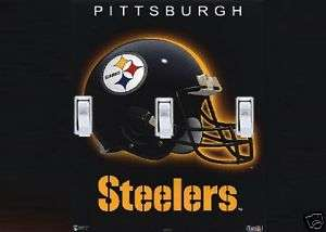 PITTSBURGH STEELERS TRIPLE SWITCH PLATE COVER