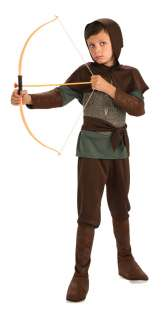 Robin Hood Child Costume includes Shirt with attached chest piece
