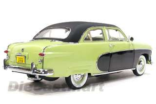 PRECISION MINIATURE 118 1950 FORD CRESTLINER GREEN DISCONTINUED