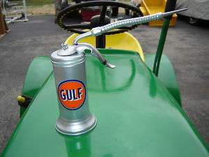 Vintage Gulf Oil Can   Eagle Oiler for Gas Station Tool