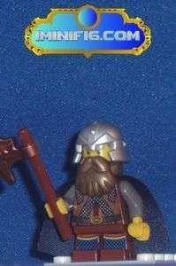 Custom LEGO minifig FOTR Gimli #096A