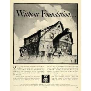 Ad W.F. Hall Printing Solid Home Valentino Sarra   Original Print Ad