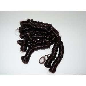 Dark Brown Curl Ringlet Hair Piece