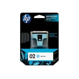 HEWLETT PACKARD HP 02 US Light Cyan Ink Cartridge Use in