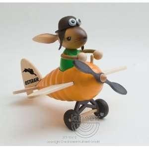 Pilot Rabbit on Plane 8 Inch High Arts, Crafts & Sewing