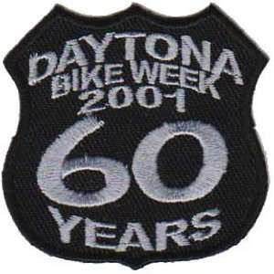 DAYTONA Rally 2001 60 Years BIKE WEEK Biker Vest Patch