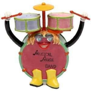 Appletree Design Rock Band Drum Set Salt and Pepper Set