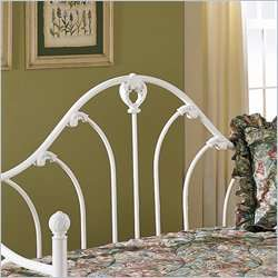Bed Group Emma Metal Antique White Finish Daybed 094325067602