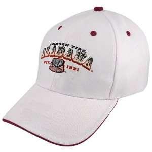 Twins Enterprise Alabama Crimson Tide White Pioneer Hat