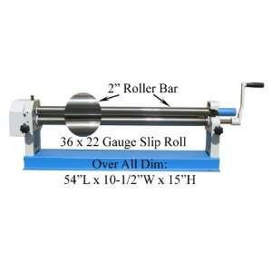 36 Slip Roll Roller Sheet Metal Brass Copper 22 Gauge **$