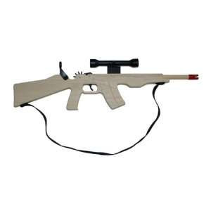 Palco AK 47 Combat Rubberband Rifle Toys & Games