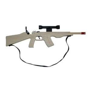 Palco AK 47 Combat Rubberband Rifle Toys & Games