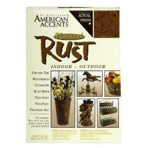 7984955 2 Part Decorative Finishes Half Pint & Spray Kit, Natural Rust