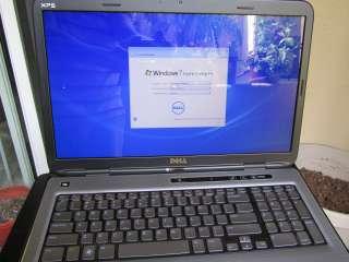 MINT DELL XPS 17 L702X 3D BluRay i7 2720QM 14GB RAM