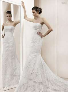 Destino Elegant Bridal Wedding Party Dress + Free Gift